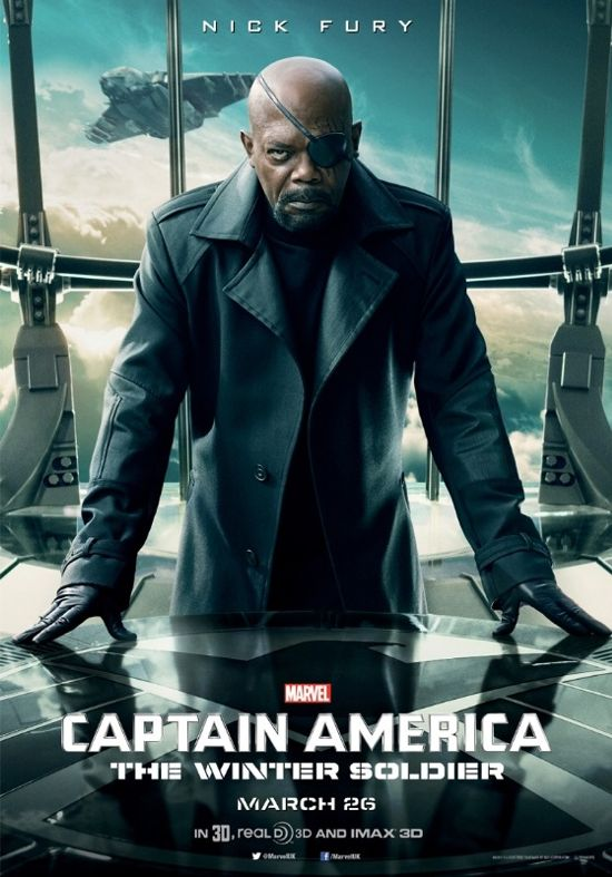 Captain America The Winter Soldier Nick Fury