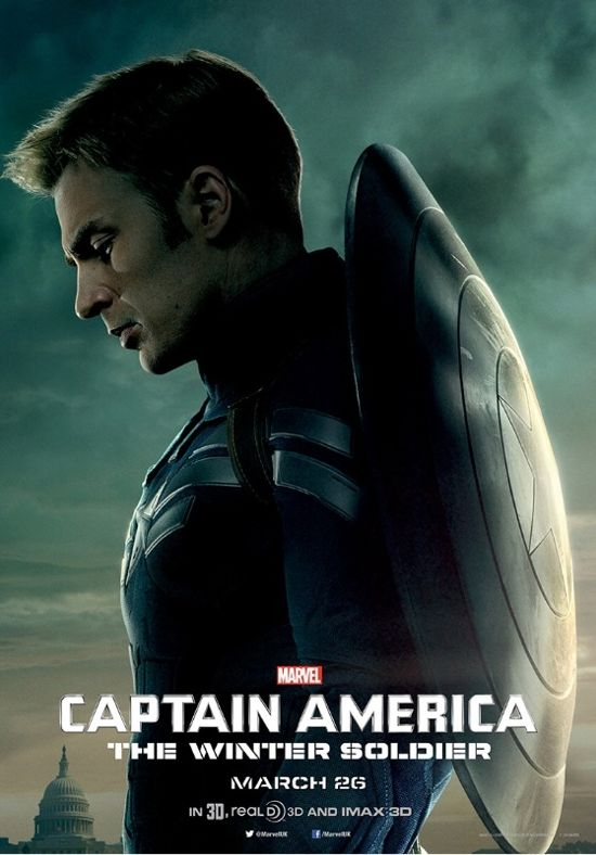 Captain America: The Winter Soldier Steve Rogers