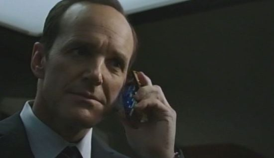 Agent Coulson on phone