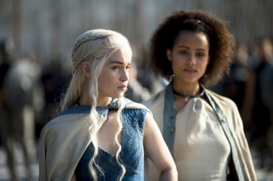 Daenerys and Missandei