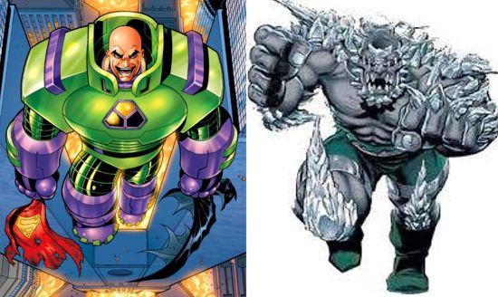 Batman Vs. Superman: Evidence Supporting Doomsday & Lex Luthor As Villains