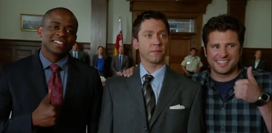 Psych Flashes Back to Season One in New TV Spot for Next Week's Episode,