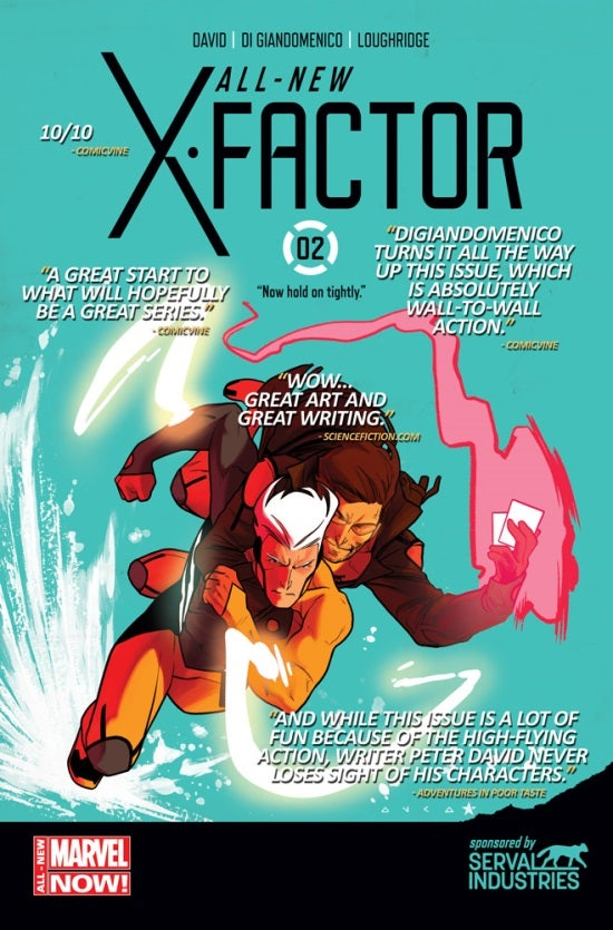 All-New X-Factor #2 Second Printing