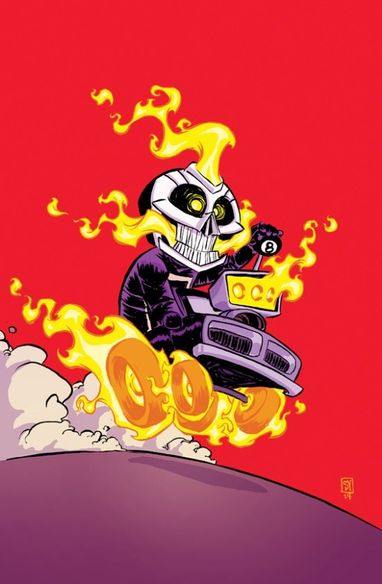 First Look At All-New Ghost Rider #1