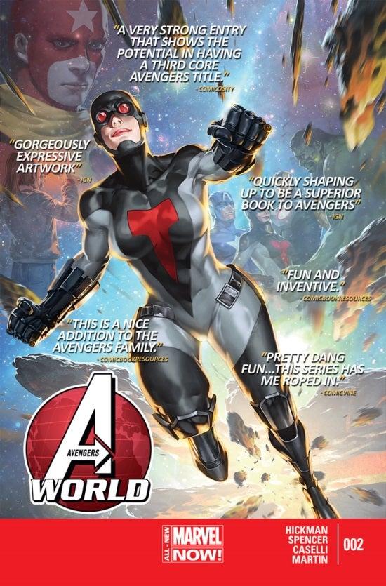 Avengers World #2 Second Printing
