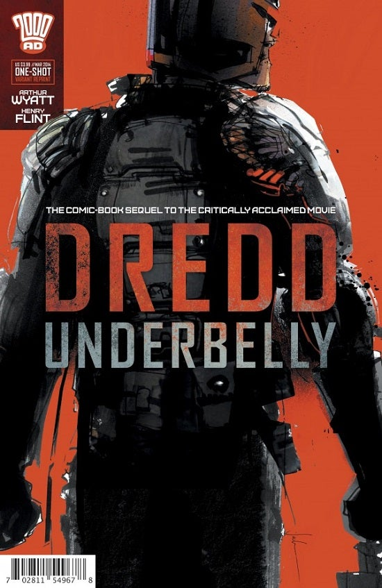 Dredd: Underbelly Publisher Recreates a Scene From the Movie (Poorly) To Promote Comic Sequel