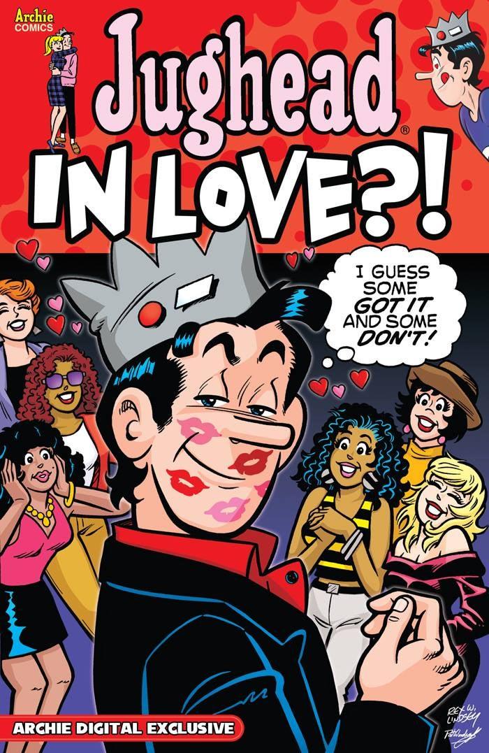 Archie Comics Announces Jughead In Love Digital Comic For ...