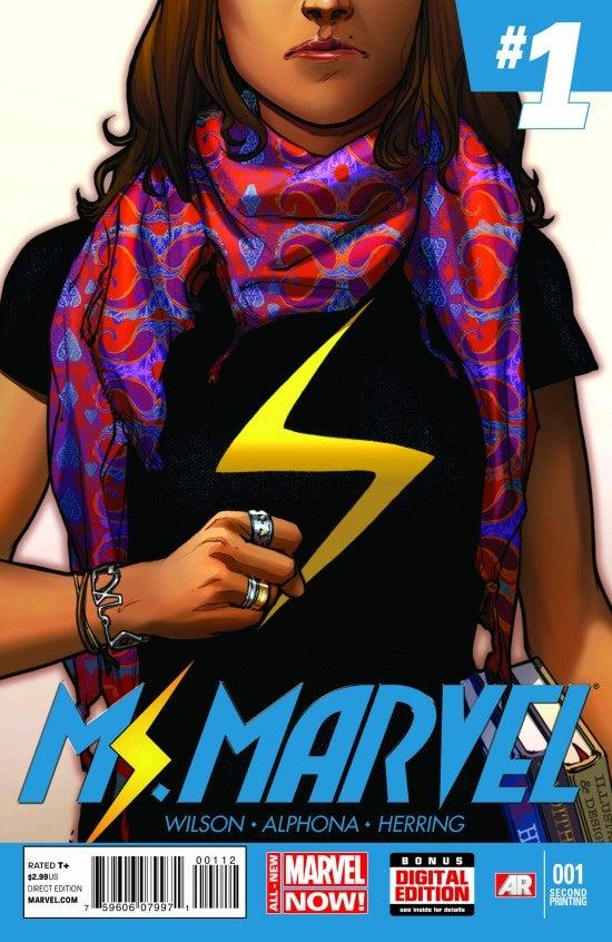 Ms_Marvel_1_Second_Printing_Variant