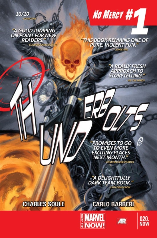 Thunderbolts #20.NOW Second Printing
