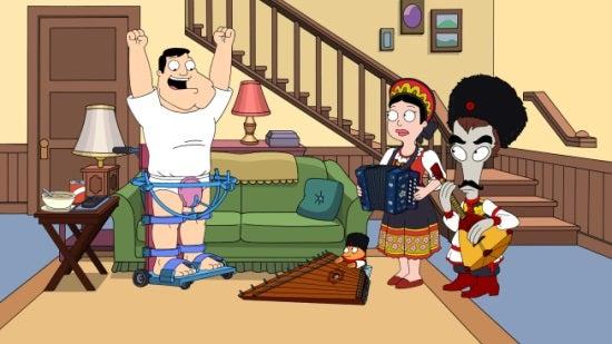 American Dad - Crotchwalkers