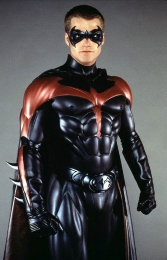 Chris O'Donnell Still Has His Robin Suit From Batman Films