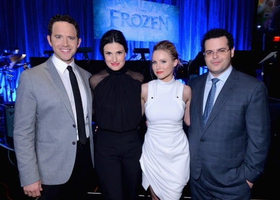 Cast of Frozen