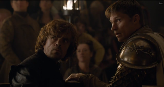Jamie and Tyrion Lannister