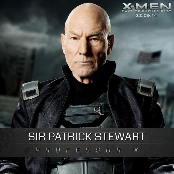 X-Men: Days of Future Past: Sir Patrick Stewart's Professor X Promo Shot Released
