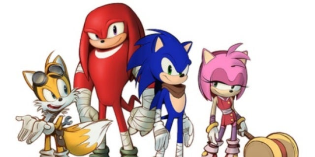 Sonic Boom Sonic And Friends Get A Redesign New Game And New Tv Series