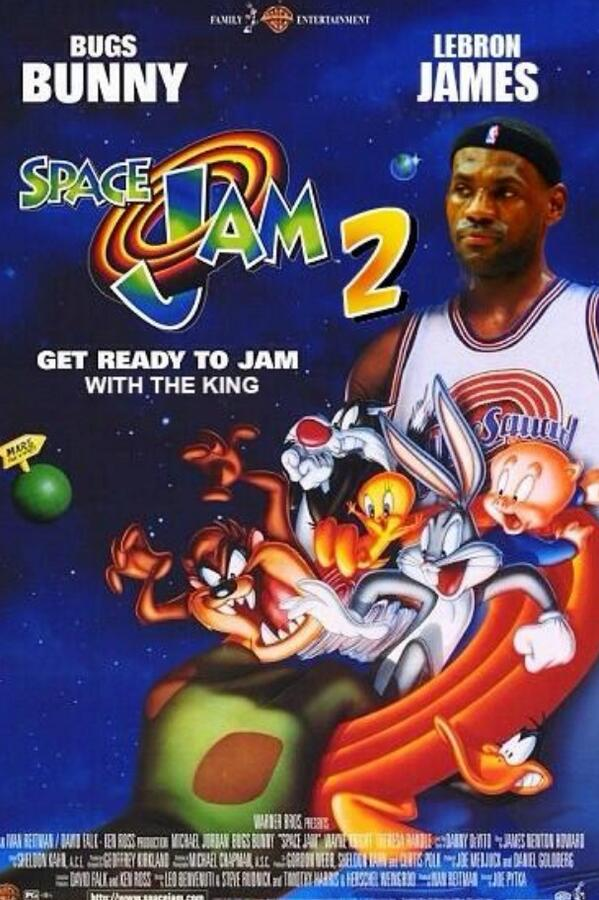 974594657435 LeBron James to Star in Space Jam 2
