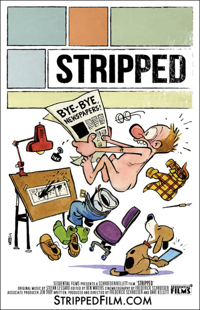 stripped-movie-poster-dvd-bill-watterson