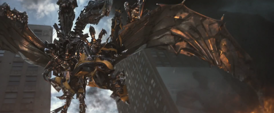 Transformers: Age of Extinction Strafe