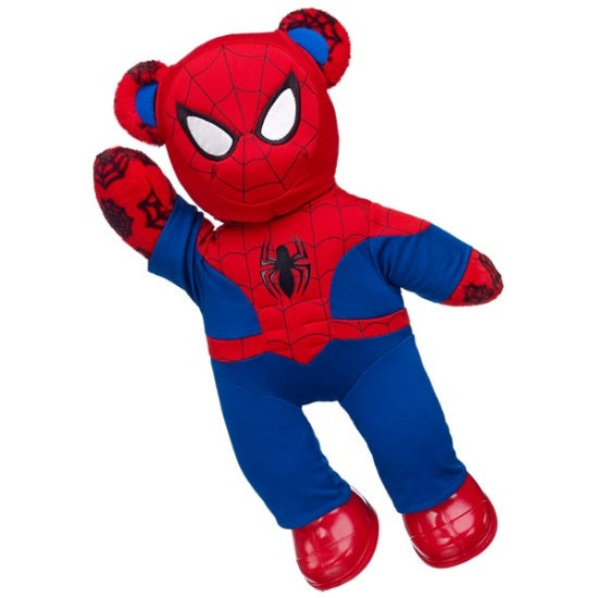 Web-Slinging Spider-Man Bear