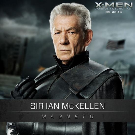 X-Men Days Of Future Past: New Photo Of Ian McKellen As Magneto