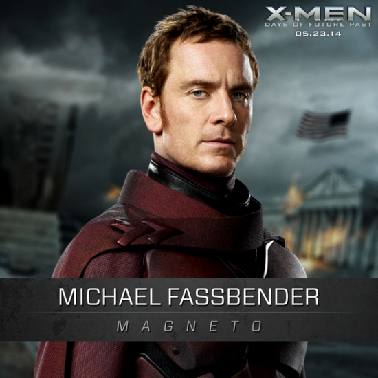 X-Men Days Of Future Past: New Magneto Photo Released