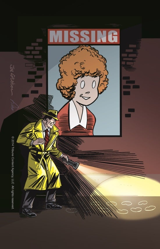 Dick Tracy and Little Orphan Annie