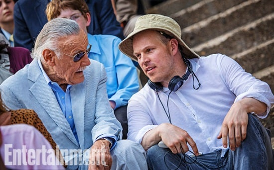 Stan Lee and Marc Webb