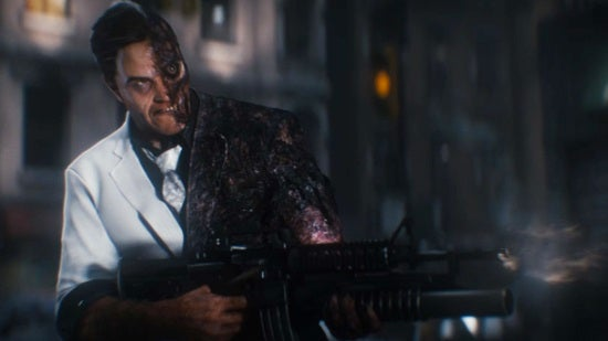 arkham knight two face