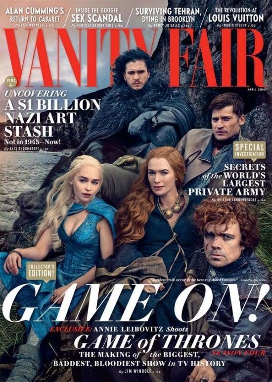 game of thrones vanity fair