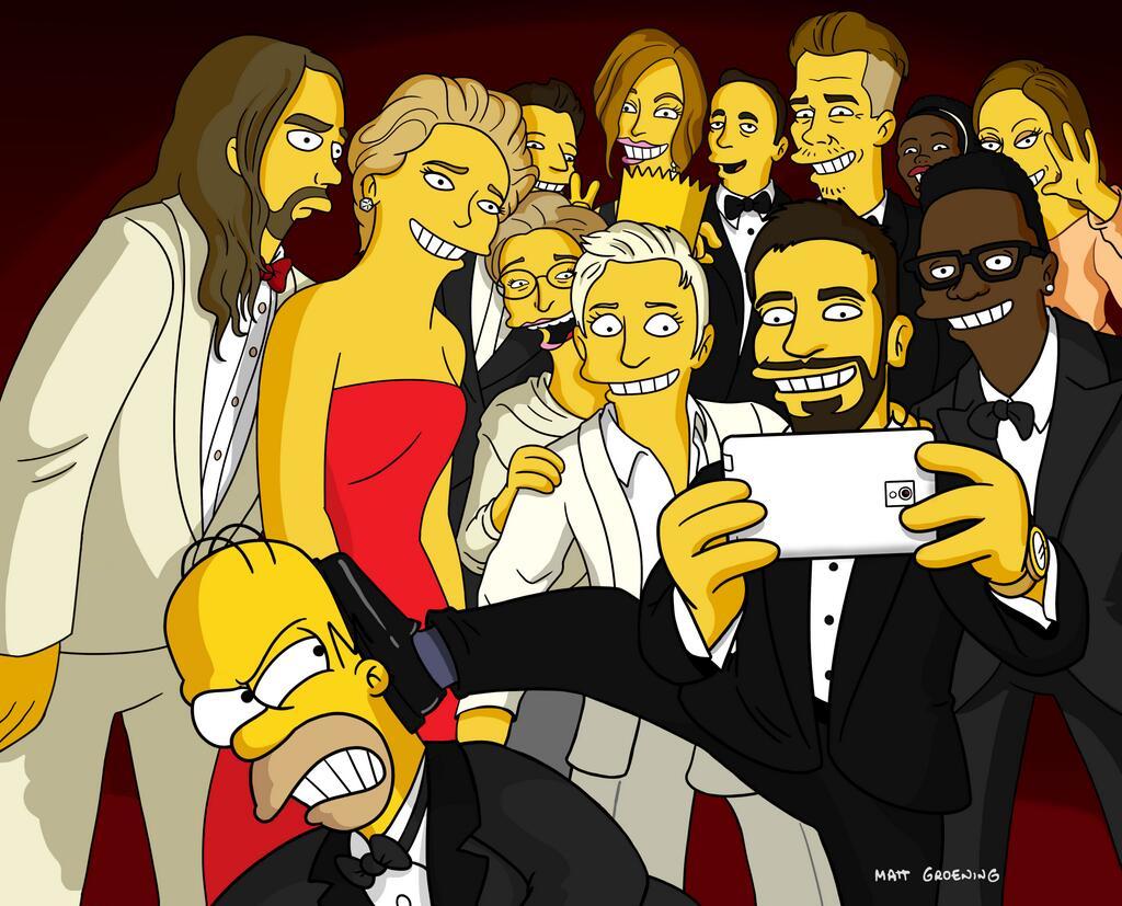 homer-simpsons-selfie