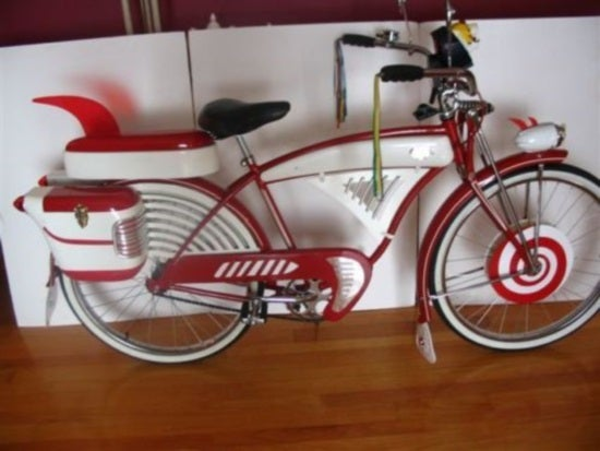 pee wee herman's bike