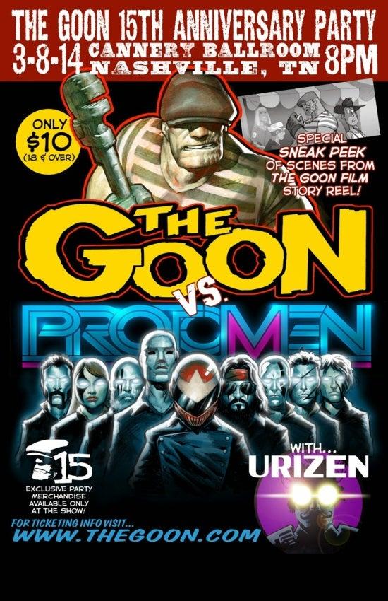 the Goon 15th anniversary