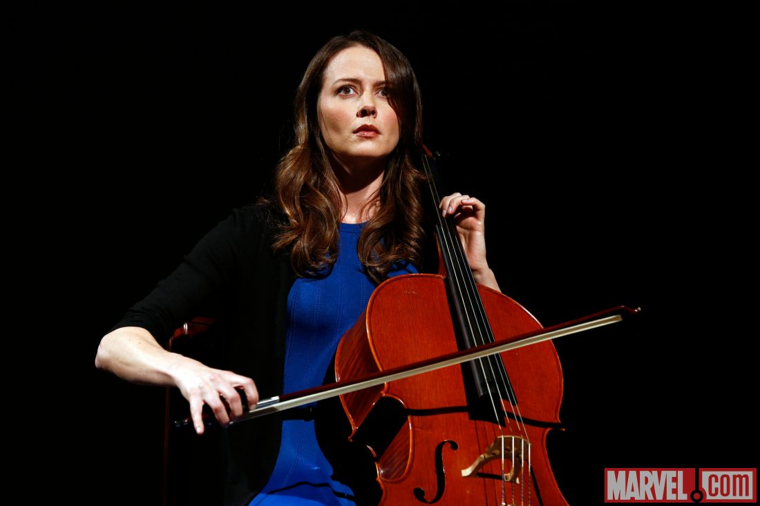 Amy Acker Hot Pics agents of s.h.i.e.l.d.: amy acker talks playing the cellist