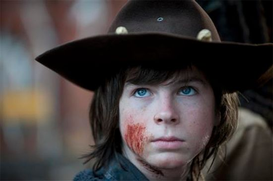The Walking Dead Season 4 Finale Carl