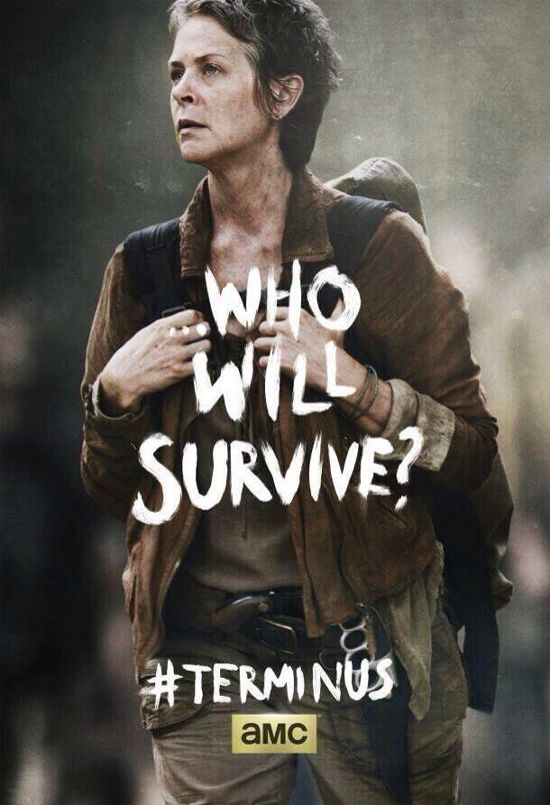 The Walking Dead Season 4 Finale Poster Featuring Carol And ...
