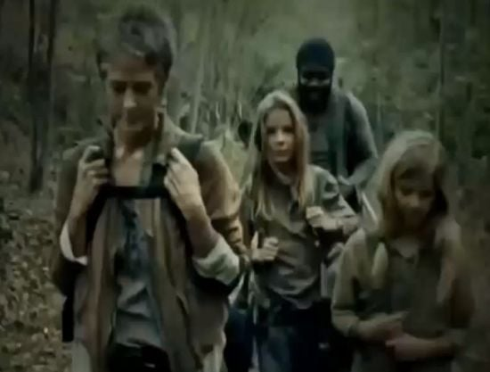 The Walking Dead The Grove No Baby Judith