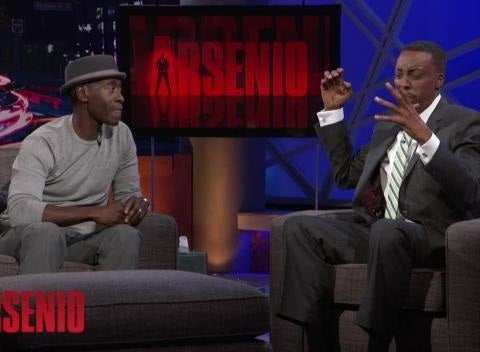Marvel Snipers Shut Down Cheadle's Avengers: Age of Ultron Leak on Arsenio