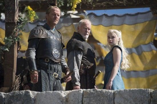 Game of Thrones - Oathkeeper - Jorah Mormont, Barrister Selmy, and Daenerys Targaryen