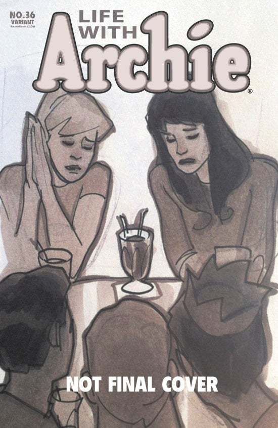 Life with Archie Graphic #36 Adam Hughes Cover