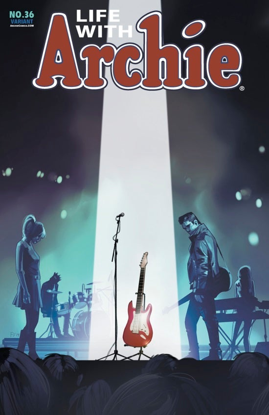 Life with Archie #36 Fiona Staples cover
