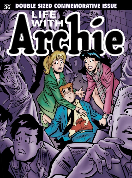 Life with Archie #36 magazine cover