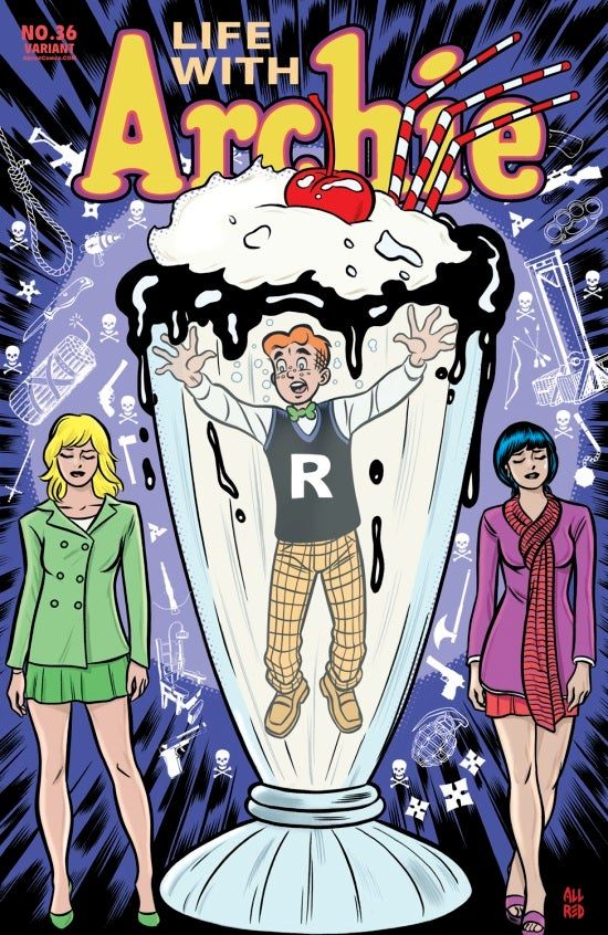 Life with Archie #36 Mike Allred cover
