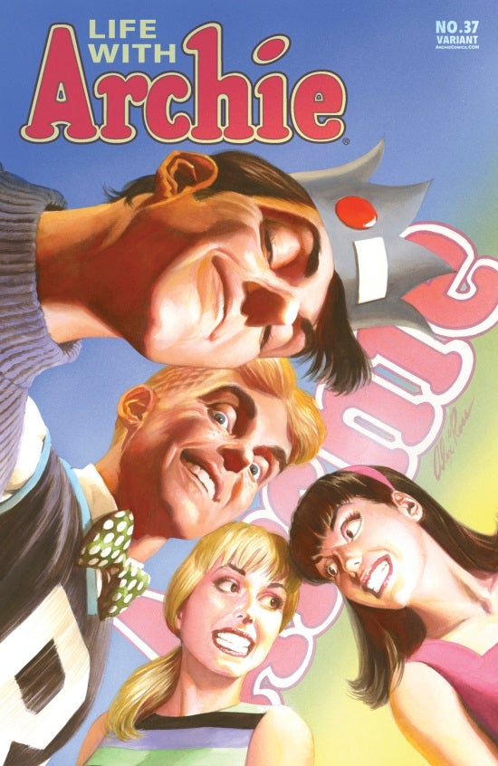 Life with Archie #37 Alex Ross Cover