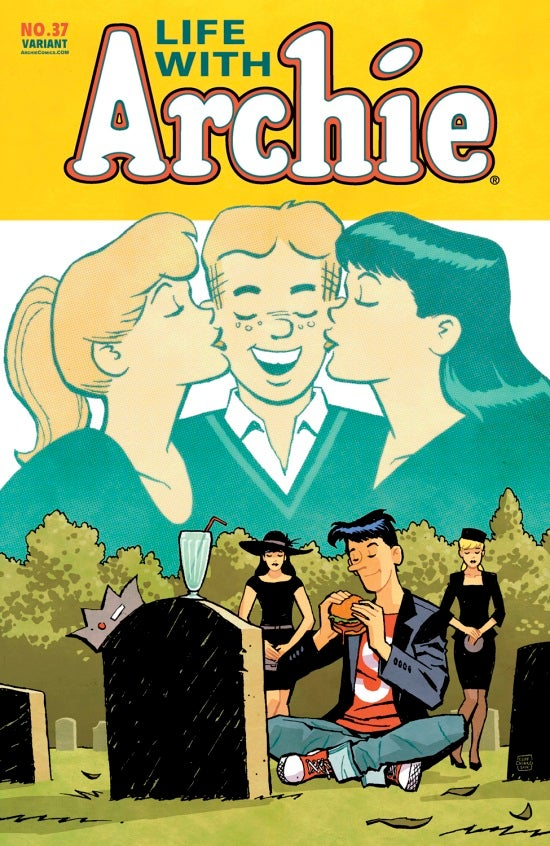 Life with Archie #37 Cliff Chiang Cover