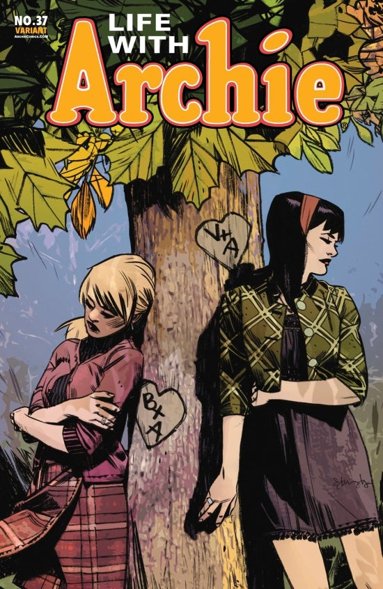 Life with Archie #37 Tommy Lee Edwards cover