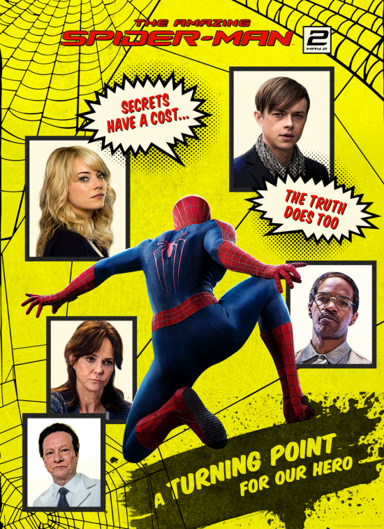 Amazing Spider-Man 2 Comic Book Poster