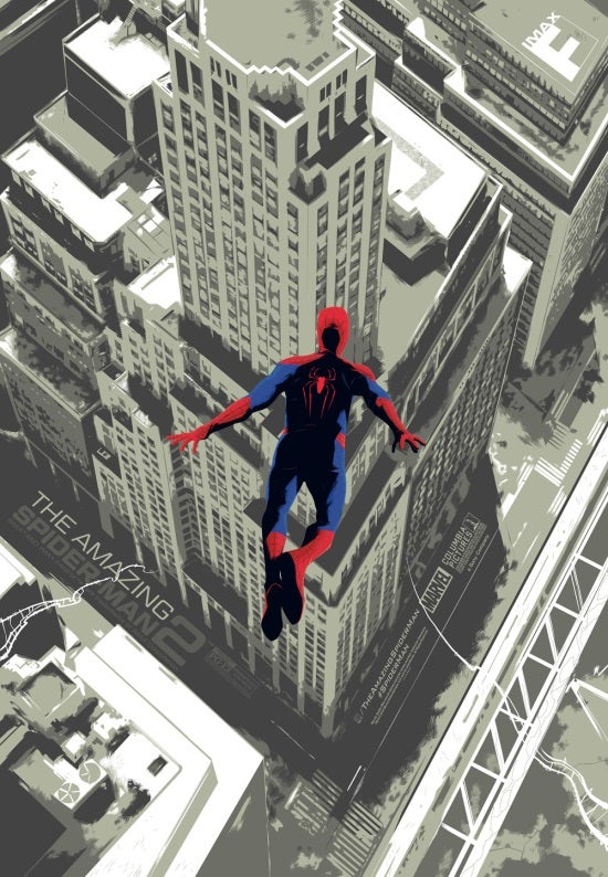 amazing spiderman 2 imax poster