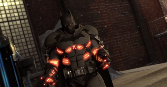 Batman Arkham Origins: Cold, Cold Heat - XE Batsuit