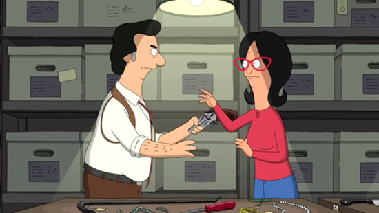 bob's burgers i get a pyschic out of you
