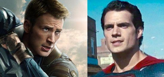 Captain America The Winter Soldier Vs. Man Of Steel